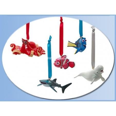 5Dlg Ornament Set - Finding Dory