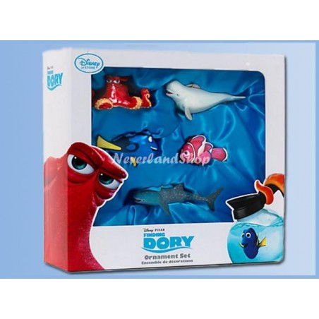 5Dlg Ornament Set - Finding Dory
