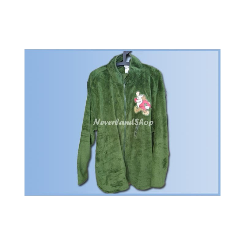 Fleece Vest Groen - Grumpy