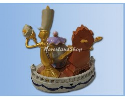 Mid Fig - Cogsworth, Lumiere, Mrs Potts & Chip