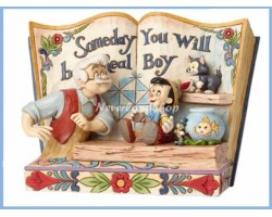 StoryBook Someday You Will Be A Real Boy - Pinocchio & Gipetto