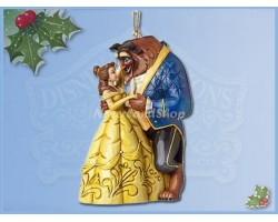 2Dlg Ornament set - Belle & Aladdin