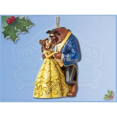 2Dlg Ornament set - Belle & Aladdin