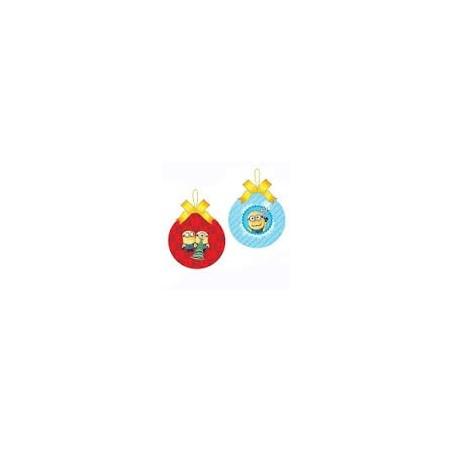2009 2Dlg set Onbreekbare ballen - Minions