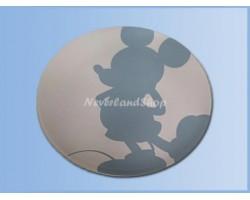 White & Blue Diner Bord - Mickey