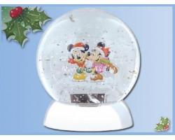 Waterdazzler Globe - Mickey & Minnie