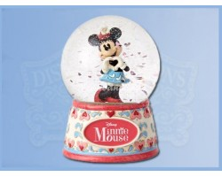 Sweet Heart Snowglobe - Minnie Mouse