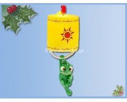 8601 3D Dangle Ornament - Pascal Light-Up
