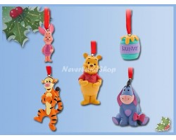Mini Ornament Set - Pooh & Co
