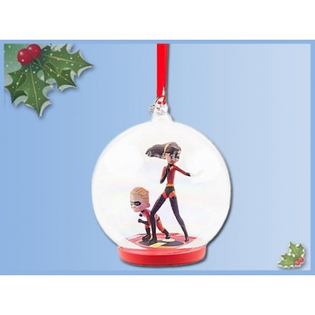 8590 3D Dangle Ornament - The Incredibles