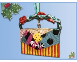 8639 3D Ornament Tas - Sally