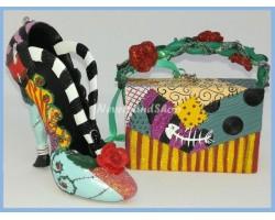 8639 3D Ornament Tas - Sally