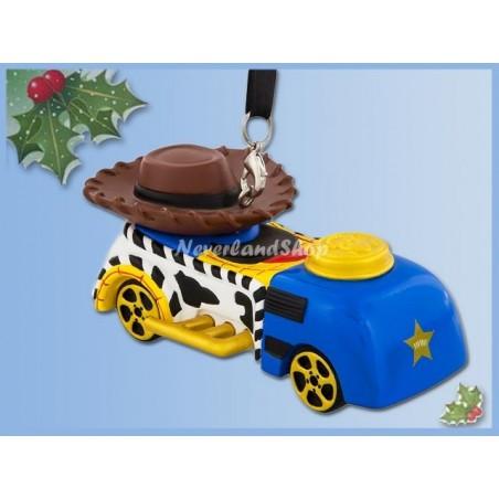 8719 3D Dangle Ornament Racer - Woody