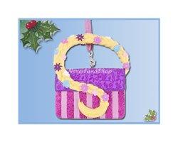 8652 3D Ornament Tas - Rapunzel