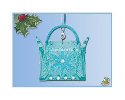 8643 3D Bag Ornaments - Elsa