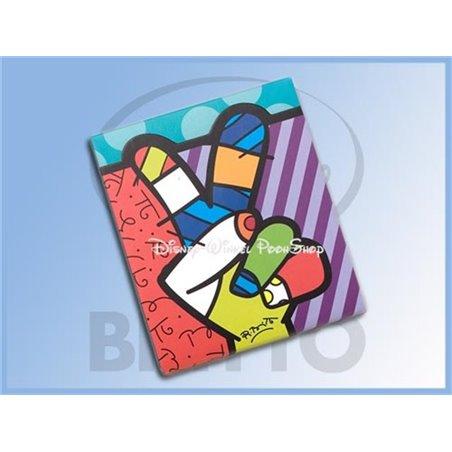 Notitieblok by Britto -  Peace, Love & Mickey