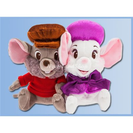 Disney Store Plush - Bianca & Bernard