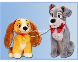 Disney Store Plush Medium - Lady & the Tramp
