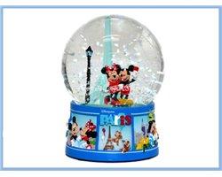 SnoeGlobe Medium Paris - Mickey & Minnie