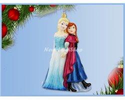 Glas Ornament - Anna & Elsa