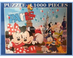 Puzzel Paris - Mickey &  Friends
