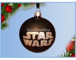 8739 Glas Ornament Bal - Star Wars