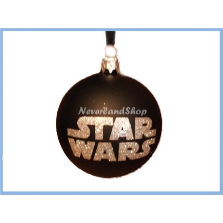 Glas Ornament Bal - Star Wars