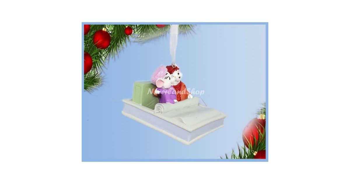 8748 3D Dangle Ornament Cuddeling - Bianca & Bernard