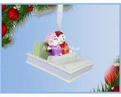 8748 3D Dangle Ornament Cuddeling - Bianca & Bernard