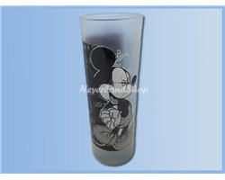 Longdrink Glas Frosted - Mickey