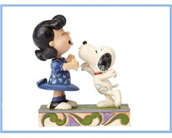Agh! I've been kissed by a dog! - Snoopy & Lucy