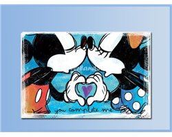 LOVE 2 Placemats - Mickey & Minnie