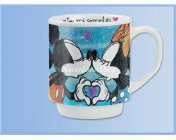 LOVE Stapel Mok - Mickey & Minnie
