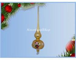 Glas TreeTopper - Mickey