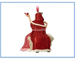 8775 3D Dangle Ornament Singing- Belle