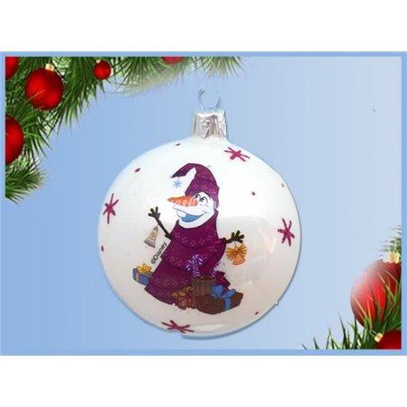 Glas Ornamenten Set - Olaf