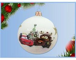 Glas Ornament - Mater & McQueen