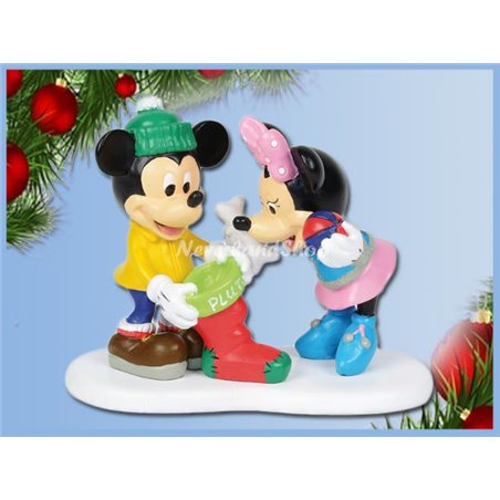 Christmas Treats for Pluto - Mickey & Minnie