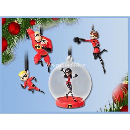 4dlg Ornament Set - Incredibles