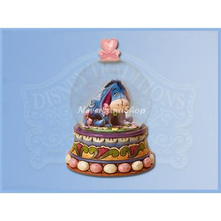 Gloom To Bloom Snowglobe - Eeyore