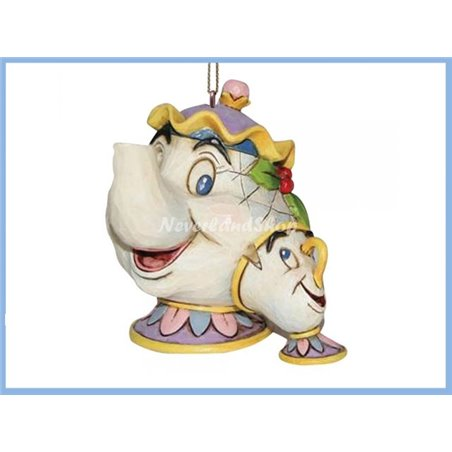 Ornament - Mrs Potts & Chip