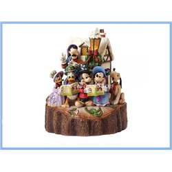Carved By Caroling - Mickey & Friends