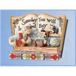 StoryBook - Someday You Will Be A Real Boy - Pinocchio & Gipetto