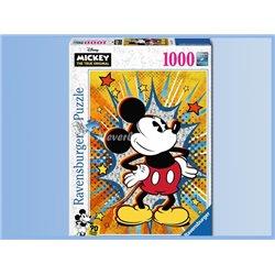 Puzzel 1000 Stuks Retro - Mickey