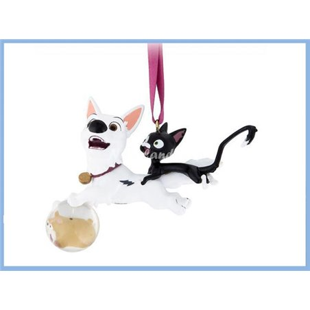 8820 3D Dangle Ornament - Bolt & Mittens