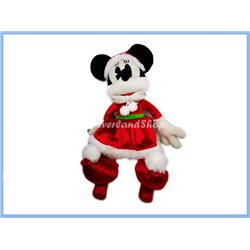 DisneyStore Kerst Plush - Minnie