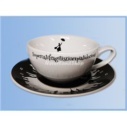 Cup & Saucer - Mary Poppins