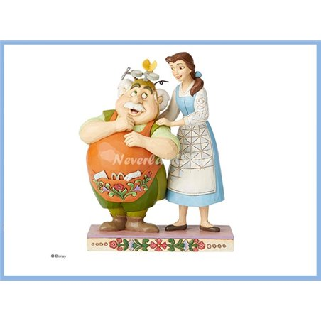Belle and Maurice Figurine