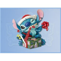 Santa Stitch Figurine