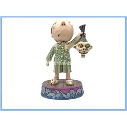 Timmy with Shrunken Head Figurine